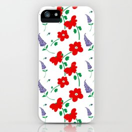 Gramillie's Flowers iPhone Case
