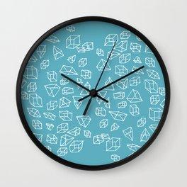 Geometric impulse Wall Clock