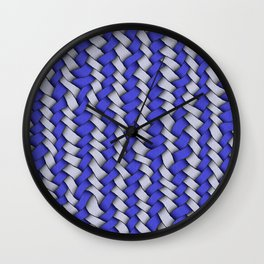 PurpleWeave Wall Clock