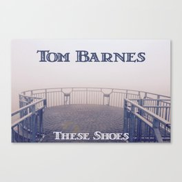 Tom Barnes These Shoes Canvas Print