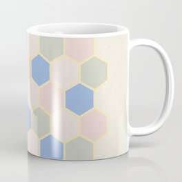 Pastel Hexagons Coffee Mug