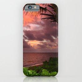 Hawaiian Sunrise iPhone Case