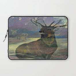 """White Tail Deer"" Laptop Sleeve"