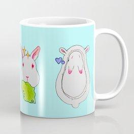 White Bunny Mug