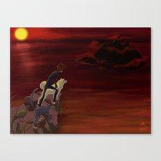 Modern Day Momotaro Canvas Print
