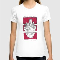 house of cards T-shirts featuring House of Cards in Red  by Art by Alexandra