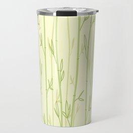 CLEAR BAMBOO BACKGROUND PATTERN DESIGN Travel Mug