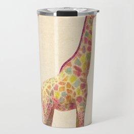 Fashionable Giraffe Travel Mug