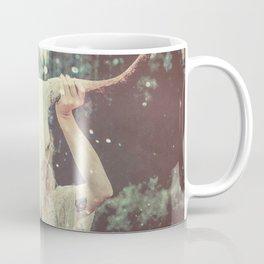 Bull Skull Tribal Woman Coffee Mug