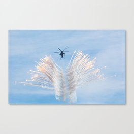 Royal Navy Sea King Canvas Print