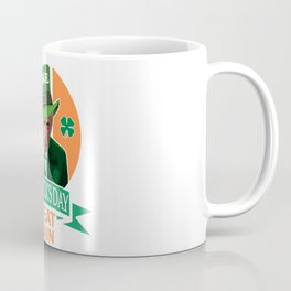 Make St. Patrick's Day Great Again Irish Donald Trump Coffee Mug