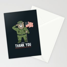 Veteran's Day Stationery Cards