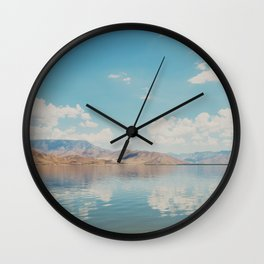 beautiful reflections ... Wall Clock