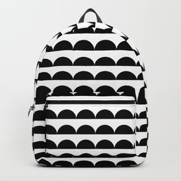 BREE ((black on white)) Backpack