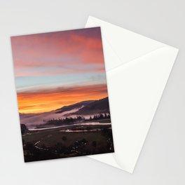 Smokey Dusk Valley Stationery Cards