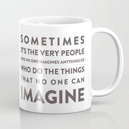 Imagine - Quotable Series Coffee Mug