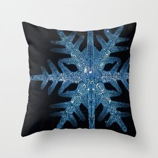 Christmas Time in the City Throw Pillow