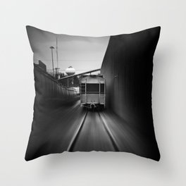 the pursuit Throw Pillow