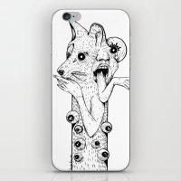 werewolf iPhone & iPod Skins featuring Werewolf by Benson Koo