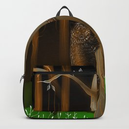 Bear Climbing Tree Backpack