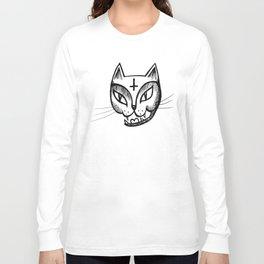 Satan Kitty Long Sleeve T-shirt