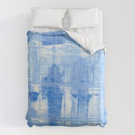Blue Cell Comforters