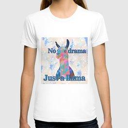No drama, just a llama T-shirt