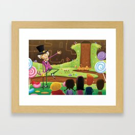 Willy Wonka's Chocolate Factory Framed Art Print