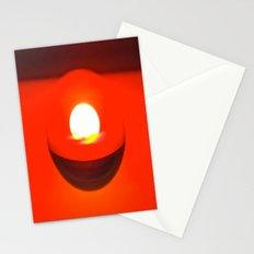 Captured sun set Stationery Cards
