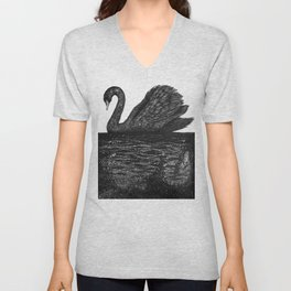 The Other Side: Black Swan Unisex V-Neck