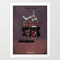08_ARCREATURES-01 Art Print