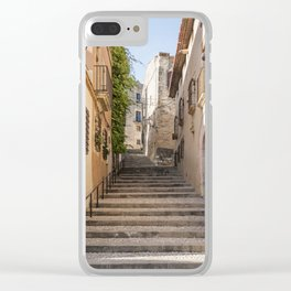 Town Street Clear iPhone Case