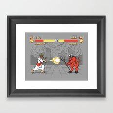 The Final Battle Framed Art Print