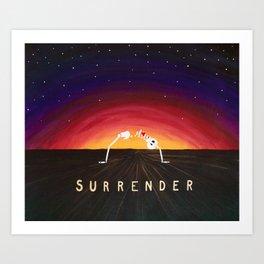 Surrender Sunset Art Print