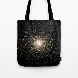 NASA Telescope View Of Globular Cluster of Stars Night Sky Astronomy Space Tote Bag
