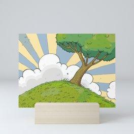 I want to be there Mini Art Print