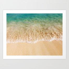 Surf & Sand Art Print