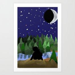 Certain Darkness Art Print