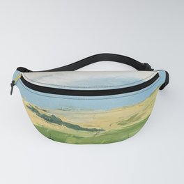 original abstract imagined landscape number3 Fanny Pack