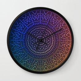 Mandala 43 Wall Clock