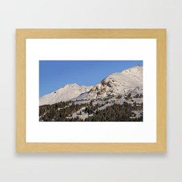 Schanfigg GR Langweis 4 Framed Art Print