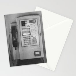 Open Air Phone Booth Stationery Cards
