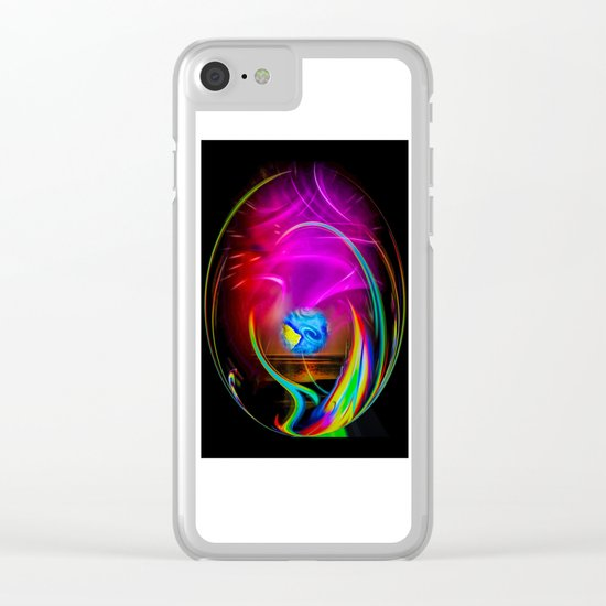 Abstract Perfection -  dreams come true Clear iPhone Case