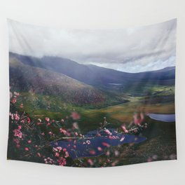 Ireland Mountains Wall Tapestry