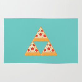 Tri-Pizza Rug