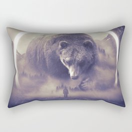 aegis II | bear Rectangular Pillow