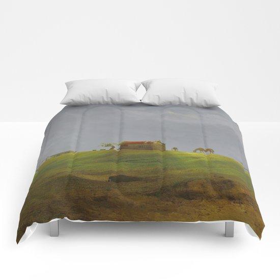 Dreamy Landscape of Cabo Polonio Comforters