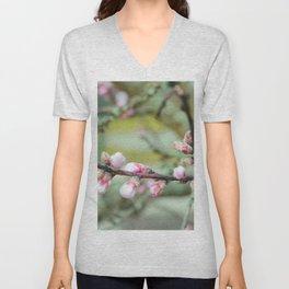 Cherry flower bud Unisex V-Neck