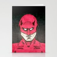 daredevil Stationery Cards featuring Daredevil by bergertime