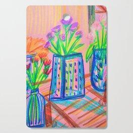 Flowers at Dawn Cutting Board